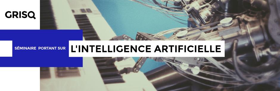 Séminaire - Intelligence artificielle